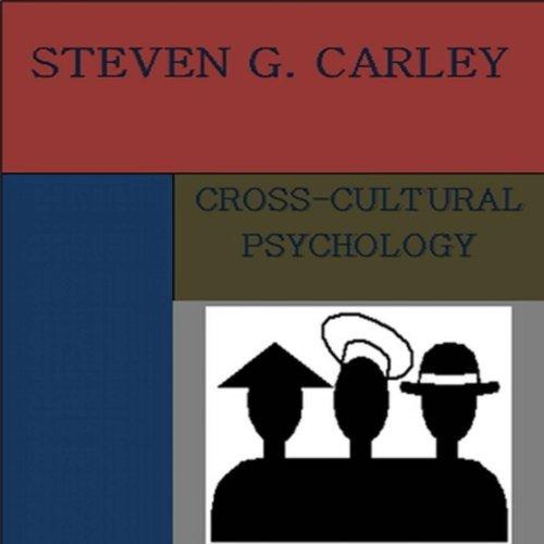 Cross-Cultural Psychology audiobook cover art