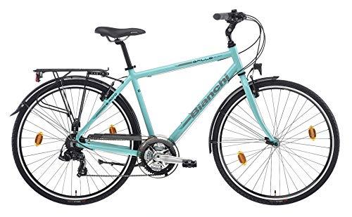 Bianchi City Bike 28' Spillo Rubino 21V Uomo CelesteBianchi (47)