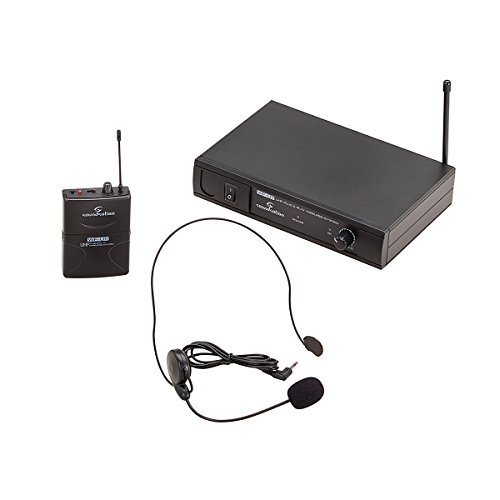 RADIOMICROFONO UHF SOUNDSATION WF-U11PB BODYPACK & HEADSET 863.55 MHz