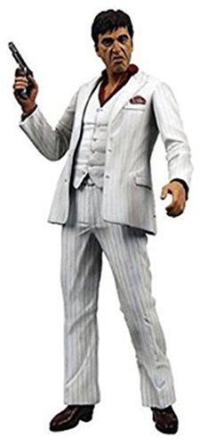 Action Figur Scarface II Al Pacino 45cm White Suit Version  mit Sound