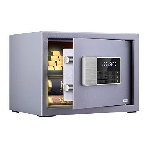 Kanqingqing Digitale Safe Box Safe Huishoudelijke Wit Kleine Mini Dubbele Muur Beveiliging Veilig Alarm Beveiliging Staal Kluis Multi-kleur Optionele Beveiliging Cash Box Home Office Safe