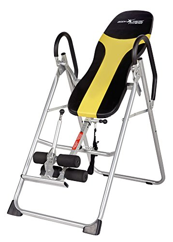Body Xtreme Fitness Heavy Duty Therapeutic Inversion Table with BONUS Cooling Towel