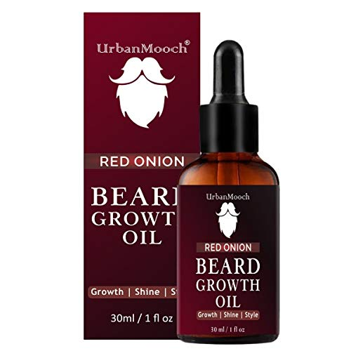 UrbanMooch Improved Onion Beard Growth Oil With Red Onion Extract 30 ml