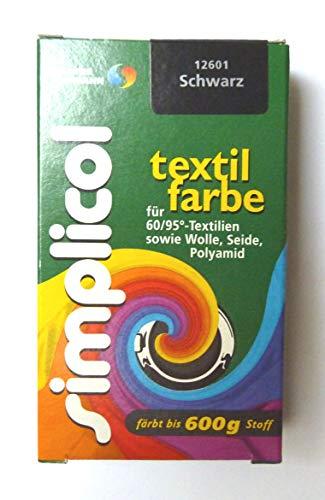 Simplicol  Restposten Textilfarbe 25g SCHWARZ von Brauns-Heitmann 23,96€/100g