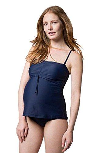 Boob Tankini Premamá para Embarazadas Traje de Baño de Dos Piezas de Maternidad y Lactancia (S)