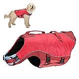 Kurgo - Giubbotto salvagente per cani, da surf, riflettente, taglia XS, colore: Rosso