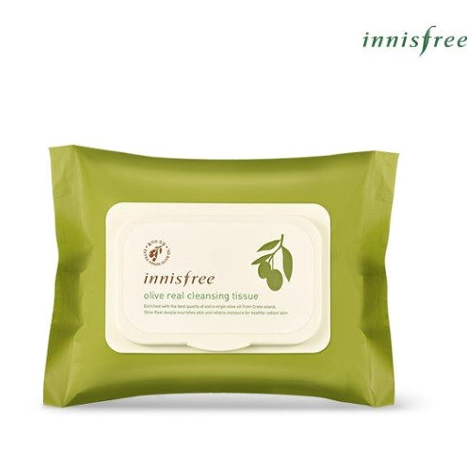 に対応するしおれた経営者[INNISFREE]イニスフリーオリーブリアルクレンジングティッシュ30個入olive real cleansing tissue 30pcs [並行輸入品]