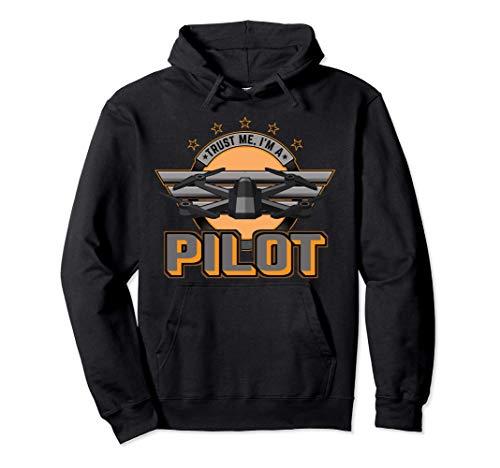 Drohnen Drohne Pilot Quadrocopter Drone Fliegen Geschenk Pullover Hoodie