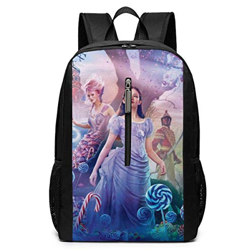 The Nutcracker and The Four Realms Backpacks 17 inch School Bag College Bags Laptop Backpack Large Capacity Backpack