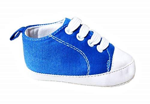 KIRALOVE - Zapatillas para niños zapatillas de bebé Glh. Azul Size: 6-9 mesi