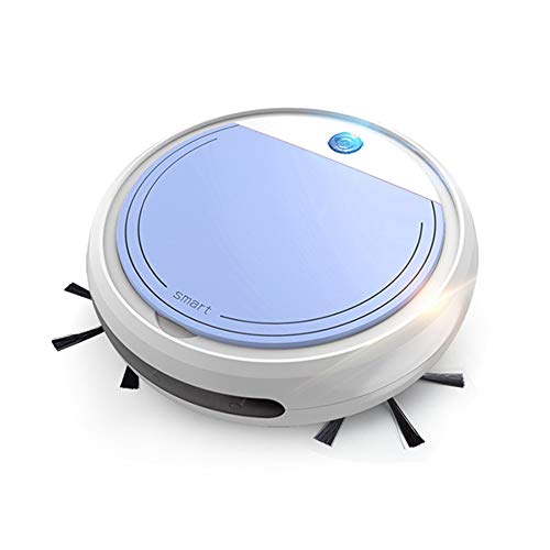 MYXMY Robot de Barrido Inteligente, Carga automática, Limpieza, Fregar la máquina, Multifuncional, una Fuerte succión/esterilización UV hogar (Color : A)