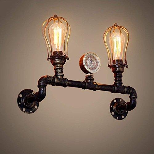 XIN Vintage artistieke ijzeren Double Hood Water wandlamp restaurant loft balkon Edison wandlamp