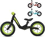 Bicicleta de Equilibrio para niños No Pedal Bike Bike Capacitación Bicicleta Primera Bicicleta Regalo de Cumpleaños para 2-7 años Niños Niños Niñas (Color : Green)