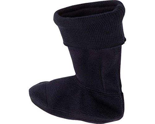Playshoes Mädchen Fleece-Stiefel Socken, Blau Marine, 28/29 EU
