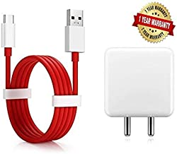 Case Plus Dash Power Charger 5V 4A Adapter with Type C USB Dash Fast Charging Cable Compatible with OnePlus 6T/6/5T/5/3T/3 (Charger +Cable)