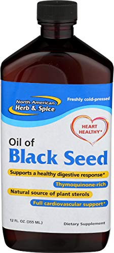 North American Herb and Spice, Oil of Black Seed, 12-Ounce