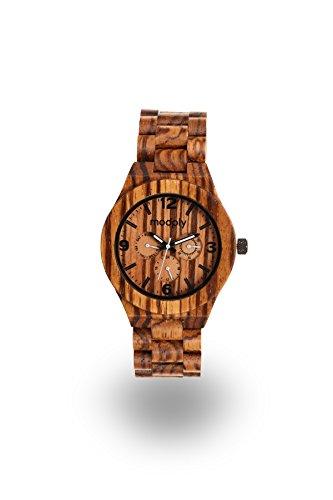 Mens Custom Engravable Wooden Watch