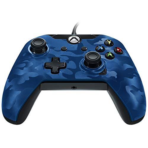 Manette Filaire pour Xbox One/S/X/PC - Camo bleu