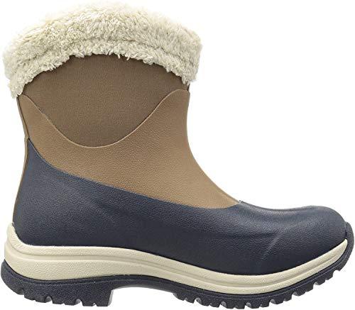 Muck Boots Damen Arctic Apres Gummistiefel, Braun (Otter/Total Eclispse Navy), 38 EU