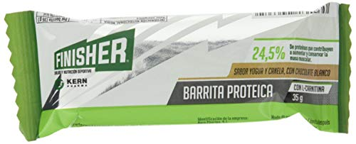 Finisher Finisher Barrita Proteica Yogur Y Canela 20Ud 300 g