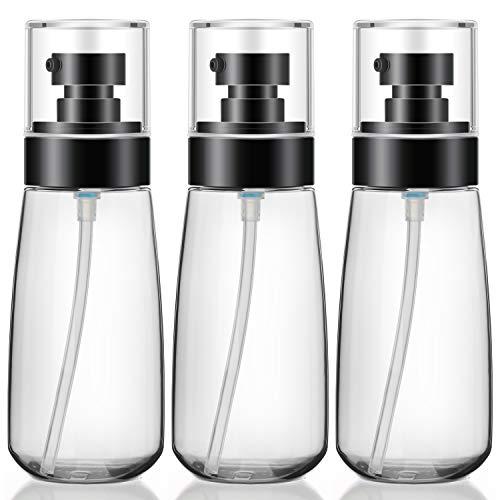 3 botellas de loción con bomba, Segbeauty 3 oz / 100 ml, contenedor de bomba de viaje vacío, botella de viaje recargable, dispensador de loción para champú, acondicionador, loción, grito