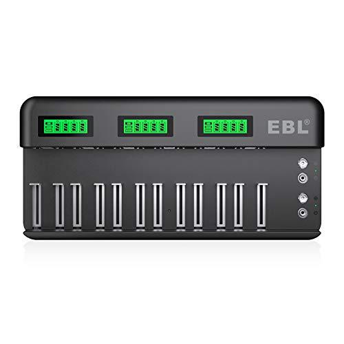 EBL Chargeur rapide pour piles rechargeables