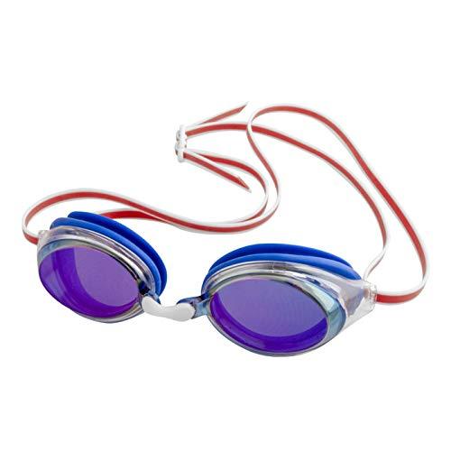 FINIS Gafas de sol unisex, color azul, rojo, espejo/negro, talla única
