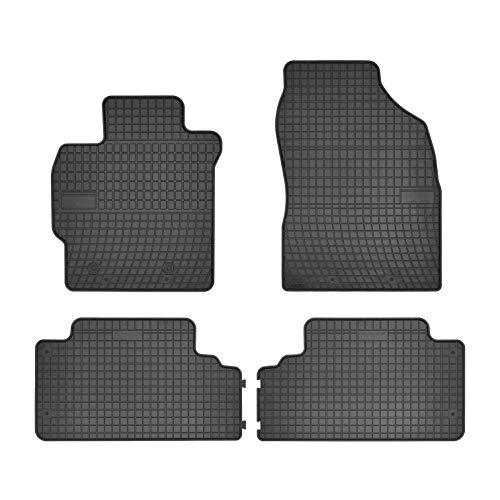 Frogum Alfombrillas de Goma Compatible con Toyota Auris I 2007-2012 | Accesorios Coche Alfombra Goma Suelo