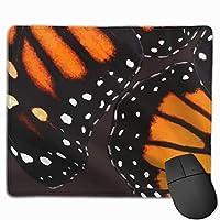 Butterfly Wingsマウスパッド滑り止めラバーゲーミングマウスパッドマットコンピュータ用ラップトップ30x25 cm