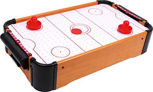 Small Foot by Legler Tisch-Air Hockey mit 1 Puck und 2 Schlägern sowie Punkteschieber, kann auf jeder Tischplatte platziert werden, fördert die Motorik und Hand-Augen-Koordination
