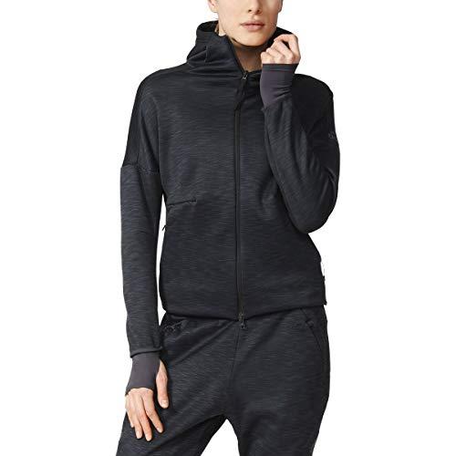 adidas Originals - Sudadera con capucha para mujer (talla X), color negro