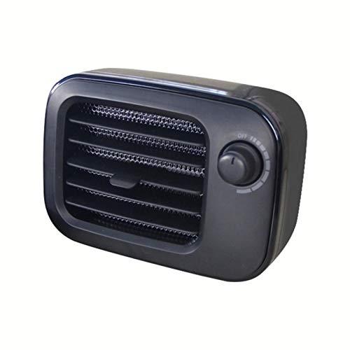 Ventilador de pie portátil, calefacción de mesa, ventilador de aire caliente PTC con varias velocidades, termostato de 550 W, calefacción personal PTC