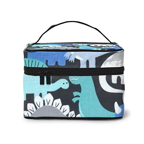 Dino-Mites Retrotravel Cosmetic Bag £¬Makeup Bag Toiletry Bag£¬ Portable for Cosmetics Make Up Brushes Toiletry Travel Accessories