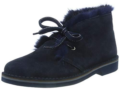 Pollini Damen Maruska Desert Boots, Blau (Ocean 75A), 40 EU