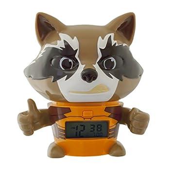 Bulb Botz 2021357 Guardians of The Galaxy Vol 2 Rocket Alarm Clock