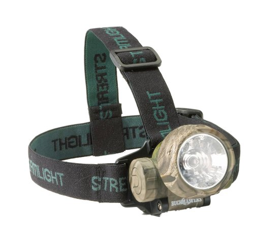 Streamlight 61070 BuckMasters Trident Headlamp, Camo - 80 Lumens
