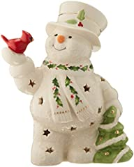 """Height: 7"""" Material: Ivory Porcelain Hand-painted 24K Gold Accents Requires Three LR44 Batteries Lights Up"""