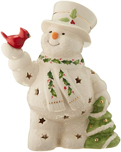 Lenox 879209 Happy Holly Days Lit Figurine