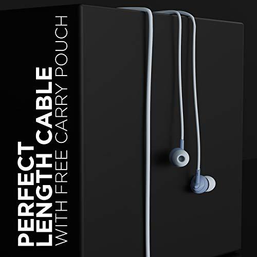 boAt Bassheads 100 in Ear Wired Earphones with mic(Mint Purple)