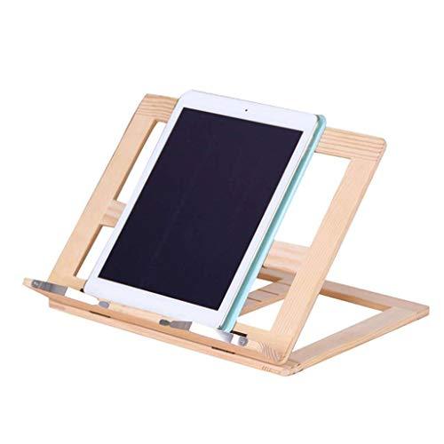 ZHFEL Soporte para Laptop Plegable,Enfriamiento Base Ventilación Ajustable Altura Ergonómico Multifuncional Antideslizantes Portátil para Viaje Oficina Hogar Cama Sofá-A