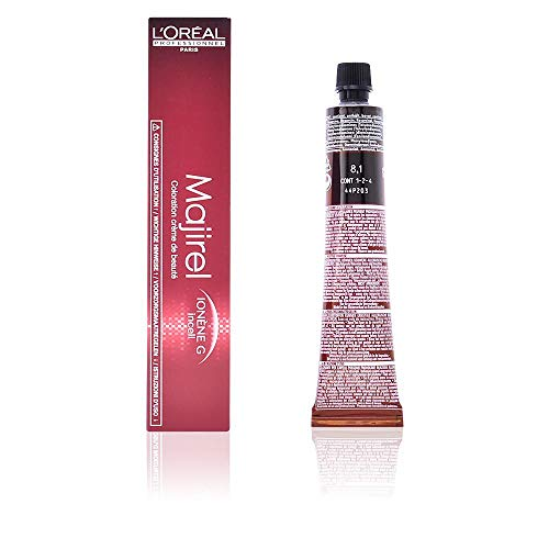L'Oreal Majirel 8.1 , Color Rubio Claro Ceniza - 50 ml