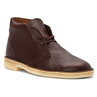 CLARKS [Desert BT PRM-12779] Premium Crepe Leather Mens Shoes CLARKSRUST Leather Cuir ROUILLEM (B00TY99YTQ) | Amazon price tracker / tracking, Amazon price history charts, Amazon price watches, Amazon price drop alerts