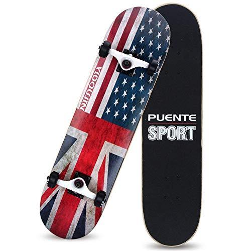 WYJW Standard Skateboard Komplettes Skateboard 31