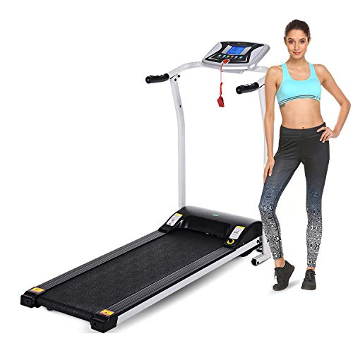 Why Choose Folding Treadmill Electric Motorized Walking Running Machine Exercise Fitness Trainer Equ...
