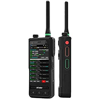 RFinder B1 Dual Band VHF/UHF 136-174/400-480 FM and DMR Portable HT Radio with Android 8.1 Smartphone