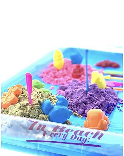 Magic Sand / Spielsand Knetsand Sandbox - Set mit umfangreichem Zubehör