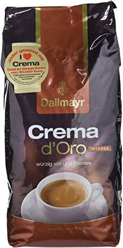 Dallmayr Crema d'oro Intensa Bohnen, 1kg