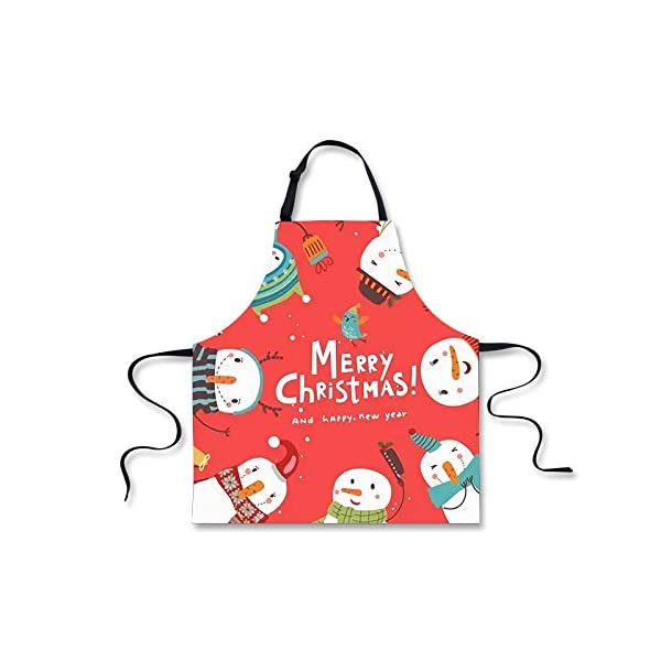 Polero Christmas Apron - Snowmen