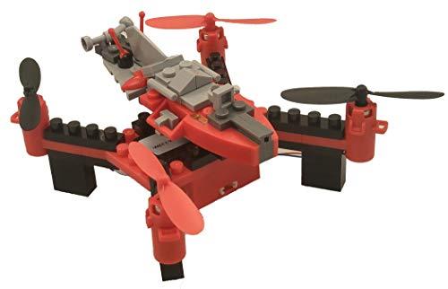 DIY Building Block Fly n Drive Space Racer Drone