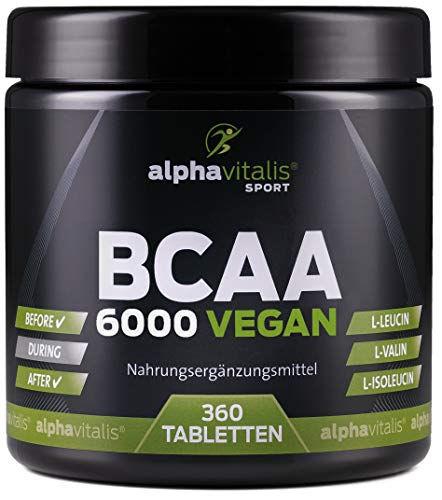 Holt Nutrition -  BCAA 6000 vegan -